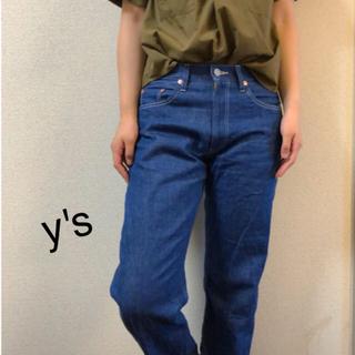 ワイズ(Y's)のy's デニム  ヨウジヤマモト yohji yamamoto メンズ ジーンズ(デニム/ジーンズ)