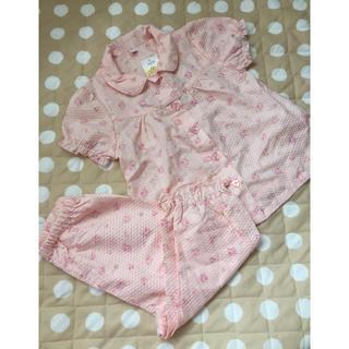 未使用♡女の子用半袖パジャマ♡100(パジャマ)