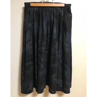 アーバンリサーチ(URBAN RESEARCH)のコキュリコット◆カモフラージュ柄スカート(ひざ丈スカート)