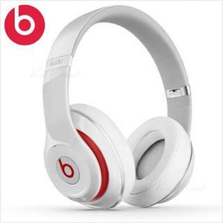 Beats by Dr Dre - (美品) Beats Studio ヘッドホン ホワイト レッド