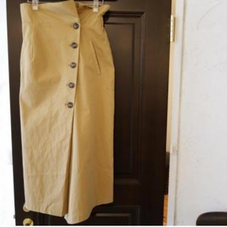 アリエス(aries)のariesmirageトレンチボタンスカート TODAYFUL.Ungrid好き(ロングスカート)