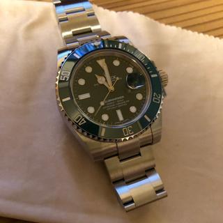 ロレックス(ROLEX)のロレックス116610LV 緑サブマリーナ 2018年5月 未使用品 138万円(腕時計(アナログ))