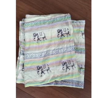 インド象柄(生地/糸)