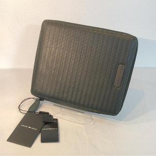 EMPORIO ARMANI レザー タブレットケース ⭐️ 新品 ⭐️