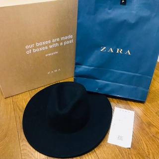 ZARA - 17a/w ZARA MAN つば広フェルトハット