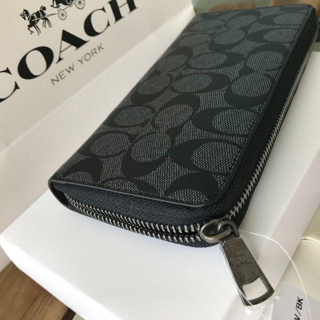 brand new 1410b f6ac9 ★閉店セール COACH(コーチ) 長財布 F75000 ブラック