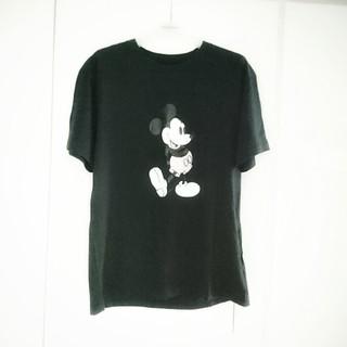 メゾンドリーファー(Maison de Reefur)のMaison de Reefur ミッキーTシャツ黒 メゾンドリーファー(Tシャツ(半袖/袖なし))