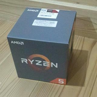 AMD RYZEN5 1500X BOX 新品未開封(PCパーツ)