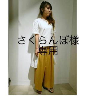 新品*タグ付き ロングTシャツ