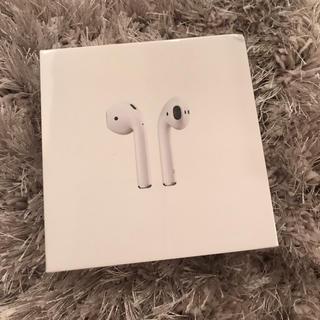 Apple - 新品 airpods エアポッズ イヤホン