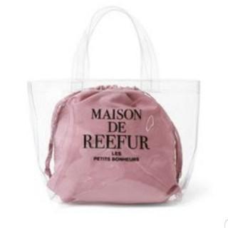 メゾンドリーファー(Maison de Reefur)のメゾンドリーファー クリアトートバッグS(トートバッグ)