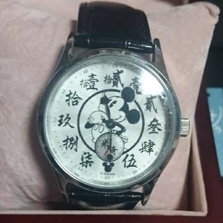 ディズニー(Disney)の激レア  香港ディズニー  ミッキー  腕時計(腕時計)