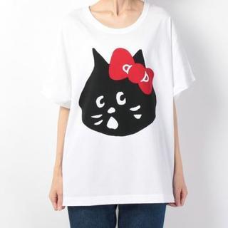 ネネット(Ne-net)のNe-netネネット・にゃー×HELLO KITTY コラボTシャツ・カットソー(Tシャツ(半袖/袖なし))