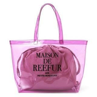 メゾンドリーファー(Maison de Reefur)のメゾンドリーファー クリアトートバッグL 未使用(トートバッグ)