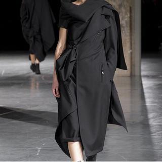 Yohji Yamamoto - yohjiyamamoto femme 2017aw ドレスコート