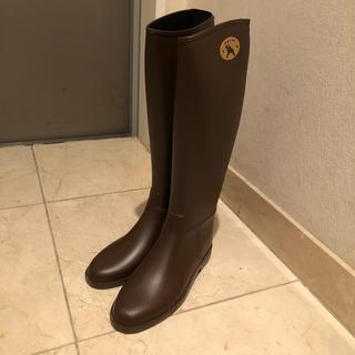 ダフナ(Dafna)のdafna レインブーツ ブラウン(レインブーツ/長靴)