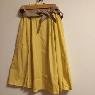しまむら - 最終値下げ!サッシュベルト付きスカート