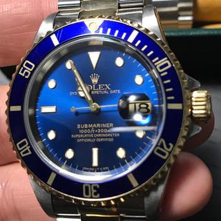 ロレックス(ROLEX)の16613 青サブ 81万円(腕時計(アナログ))