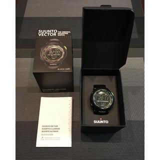 スント(SUUNTO)のSUUNTO VECTOR(BLACK LIME)(腕時計(デジタル))