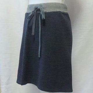 スコットクラブ(SCOT CLUB)のSCOT CLUB スウェットスカート 新品未使用(ひざ丈スカート)