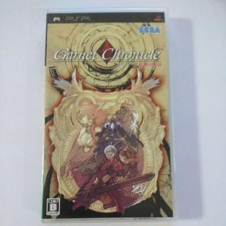 プレイステーションポータブル(PlayStation Portable)のPSP ガーネット クロニクル 紅輝の魔石(携帯用ゲームソフト)