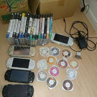 プレイステーションポータブル(PlayStation Portable)のpsp 他セット(携帯用ゲーム本体)