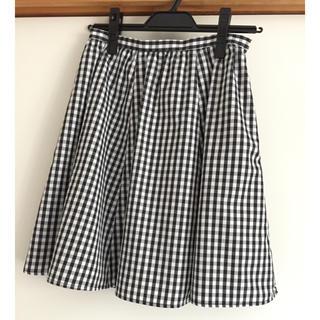 ナチュラルビューティーベーシック(NATURAL BEAUTY BASIC)のNBB  フレアスカート(ひざ丈スカート)