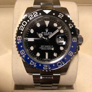 ロレックス(ROLEX)のロレックス GMTマスターⅡ 116710BLNR 2018年 126万円(腕時計(アナログ))