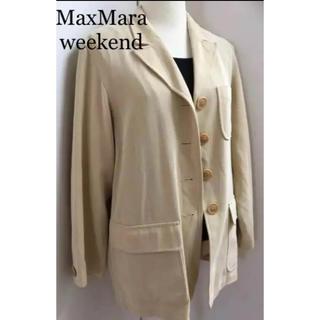 マックスマーラ(Max Mara)のマックスマーラ ウィークエンド 定価6万 大きいサイズ(テーラードジャケット)