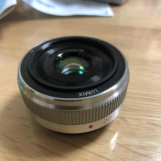 パナソニック(Panasonic)のLUMIX 20mm F1.7 Ⅱ H-H020A 【美品】(その他)