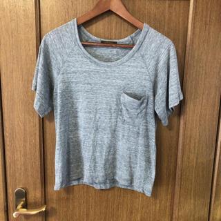 シンゾーン(Shinzone)のマイダルタニアン シンゾーン  カットソー Tシャツ 半袖 F グレー(Tシャツ(半袖/袖なし))
