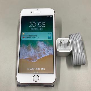 Apple - アップル SIMフリー iPhone6s ローズゴールド 64GB