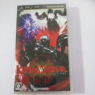 プレイステーションポータブル(PlayStation Portable)のPSP ロード オブ アルカナ(携帯用ゲームソフト)