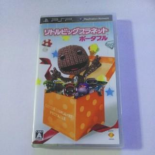 プレイステーションポータブル(PlayStation Portable)のPSP リトルビッグプラネット ポータブル(携帯用ゲームソフト)