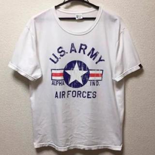 アルファインダストリーズ(ALPHA INDUSTRIES)のALPHA アルファ Tシャツ (Tシャツ/カットソー(半袖/袖なし))