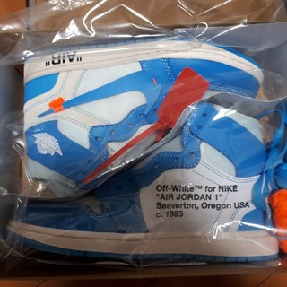 NIKE - NIKE AIR JORDAN 1 X OFF-WHITE NRG (25cm)