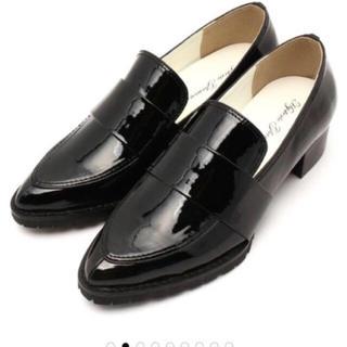 ヒステリックグラマー(HYSTERIC GLAMOUR)の値下げ❗️ローファー 23 23.5(ローファー/革靴)