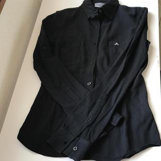 ジェイリンドバーグ(J.LINDEBERG)の【 ジェイリンドバーグ 】長袖 ポロシャツ S シャツ ゴルフウェア (ポロシャツ)