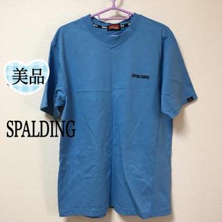 スポルディング(SPALDING)の33. 美品‼️【SPALDING】メンズ Tシャツ(L)(Tシャツ/カットソー(半袖/袖なし))