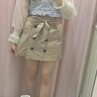 heather - heatherトレンチスカート