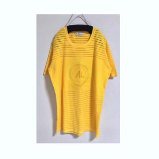 アンドレルチアーノ(ANDRE LUCIANO)の古着 ロゴデザインのブレンドTシャツ(Tシャツ(半袖/袖なし))