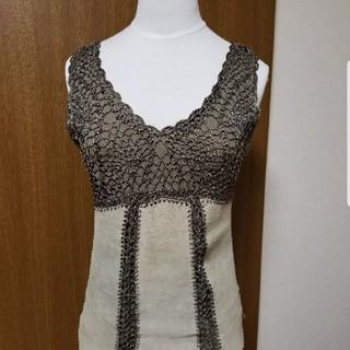 スコットクラブ(SCOT CLUB)のメトリーゼ 豚革使用カットソー(カットソー(半袖/袖なし))