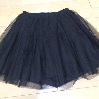 マーキュリーデュオ(MERCURYDUO)のマーキュリーデュオ♡チュールスカート黒(ミニスカート)