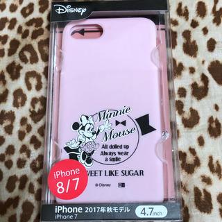 Disney - ミニーマウスiPhoneケース(ピンク)