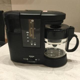 ゾウジルシ(象印)の象印 ミル機能付 コーヒーメーカー EC CA40(コーヒーメーカー)