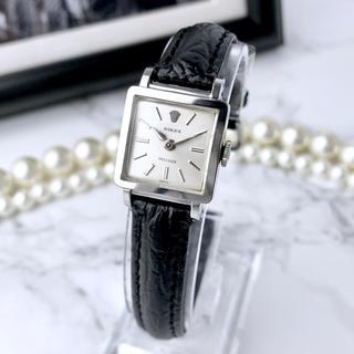ロレックス(ROLEX)の美品 ロレックス プレシジョン ベルト2色付 シルバー レディース 腕時計(腕時計)
