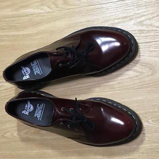 ドクターマーチン(Dr.Martens)のdr.martin vegan leather 3ホール UK8 (ブーツ)