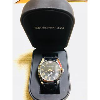 エンポリオアルマーニ(Emporio Armani)の時計(レザーベルト)