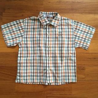 ファミリア(familiar)のファミリア◾チェックシャツ 120(Tシャツ/カットソー)