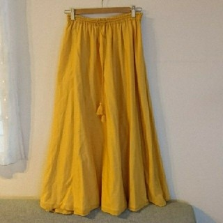 オペーク(OPAQUE)の専用☆インド綿 涼しげなロングスカート(ロングスカート)
